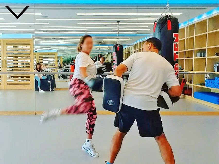 Personal Trainer Limassol Kickboxing